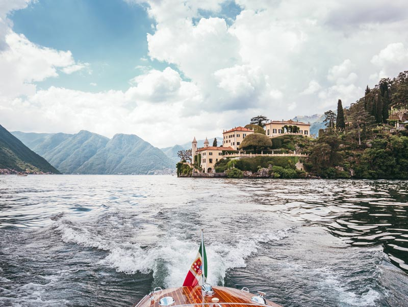 Riva boat rental Lake Como
