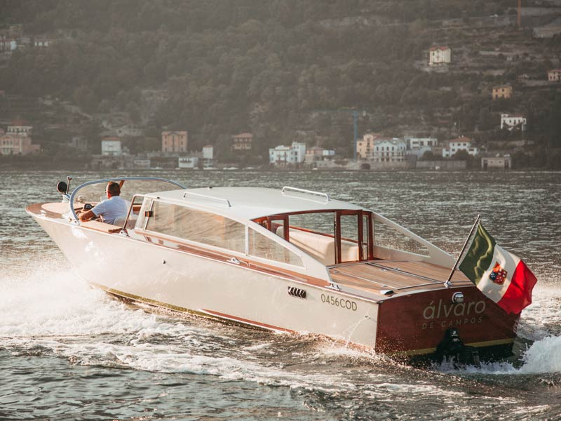 Private boat tour on Lake Como