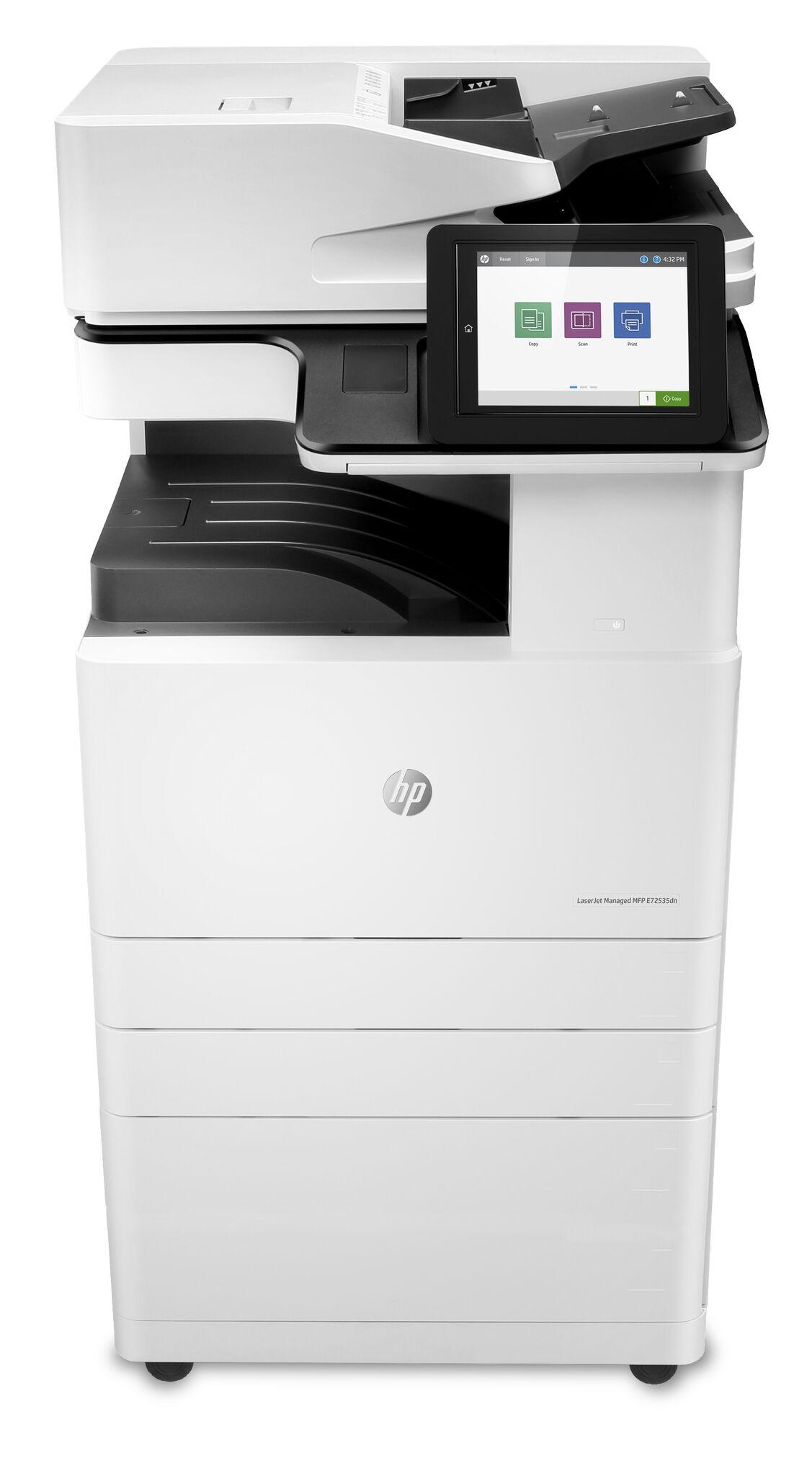 Noleggio Multifunzione HP LaserJet Managed E72525DN - Lyreco print services