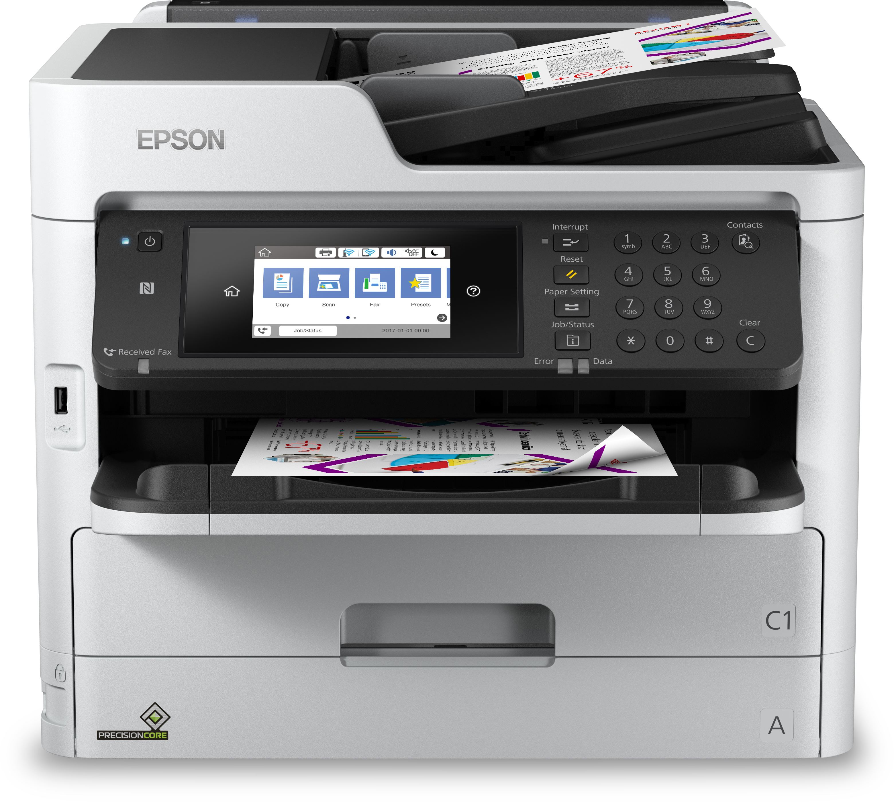 Noleggio Multifunzione WorkForce Pro WF-C5790DWF - Lyreco print services