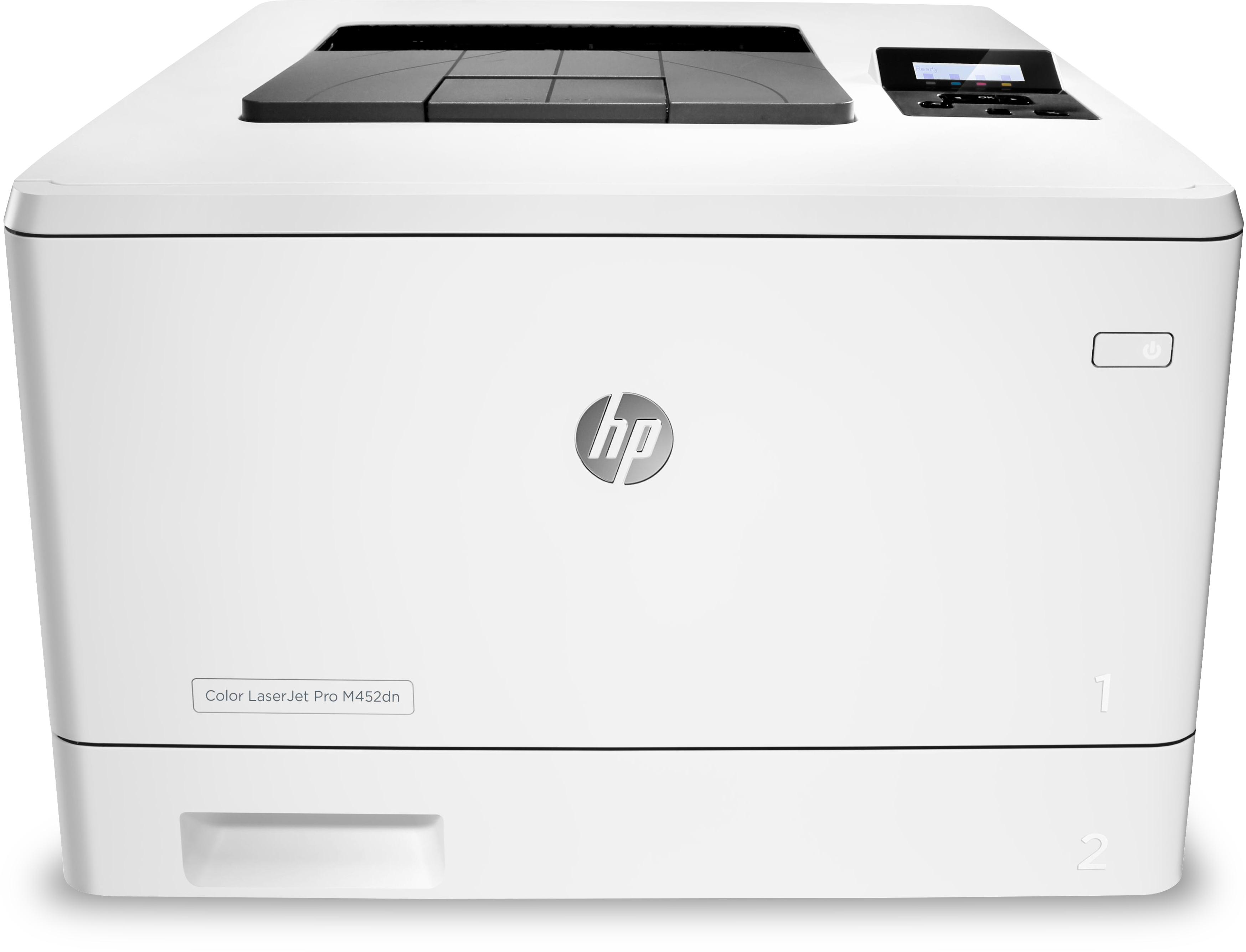 Noleggio Stampante HP Color LaserJet Pro M452DN - Lyreco print services