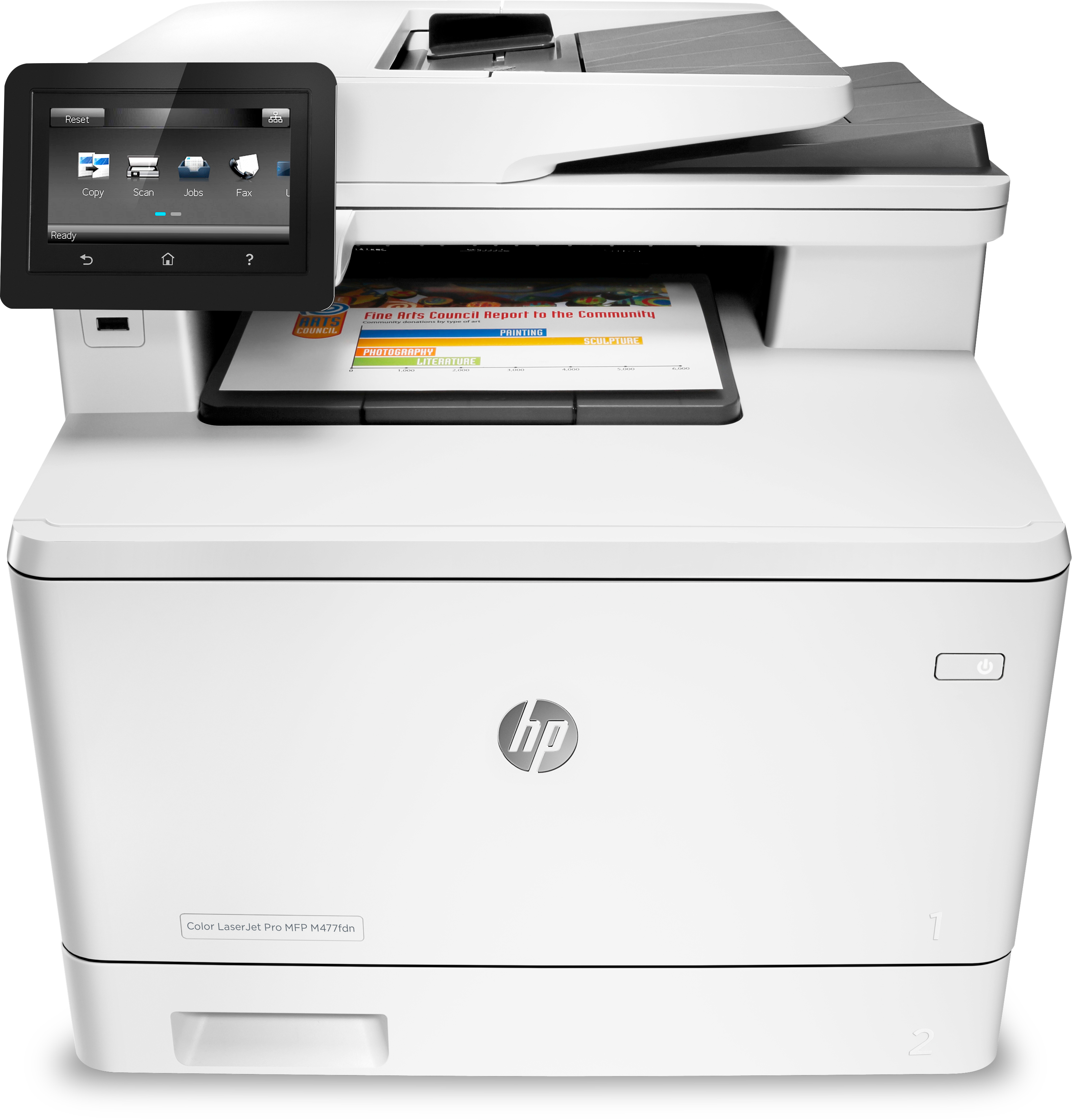 Noleggio Multifunzione HP Color LaserJet Pro M477FDN - Lyreco print services
