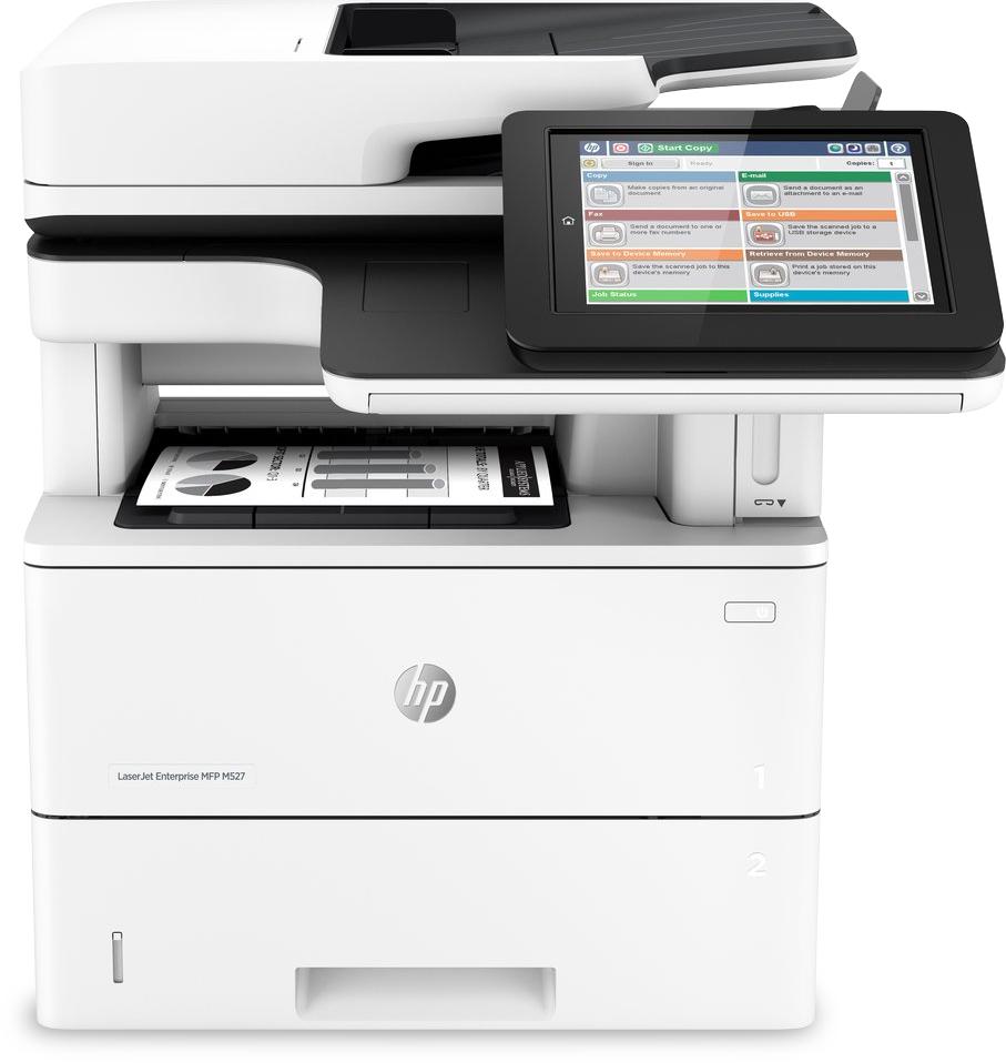 Noleggio Stampante multifunzione HP LaserJet Enterprise M527F - Lyreco print services