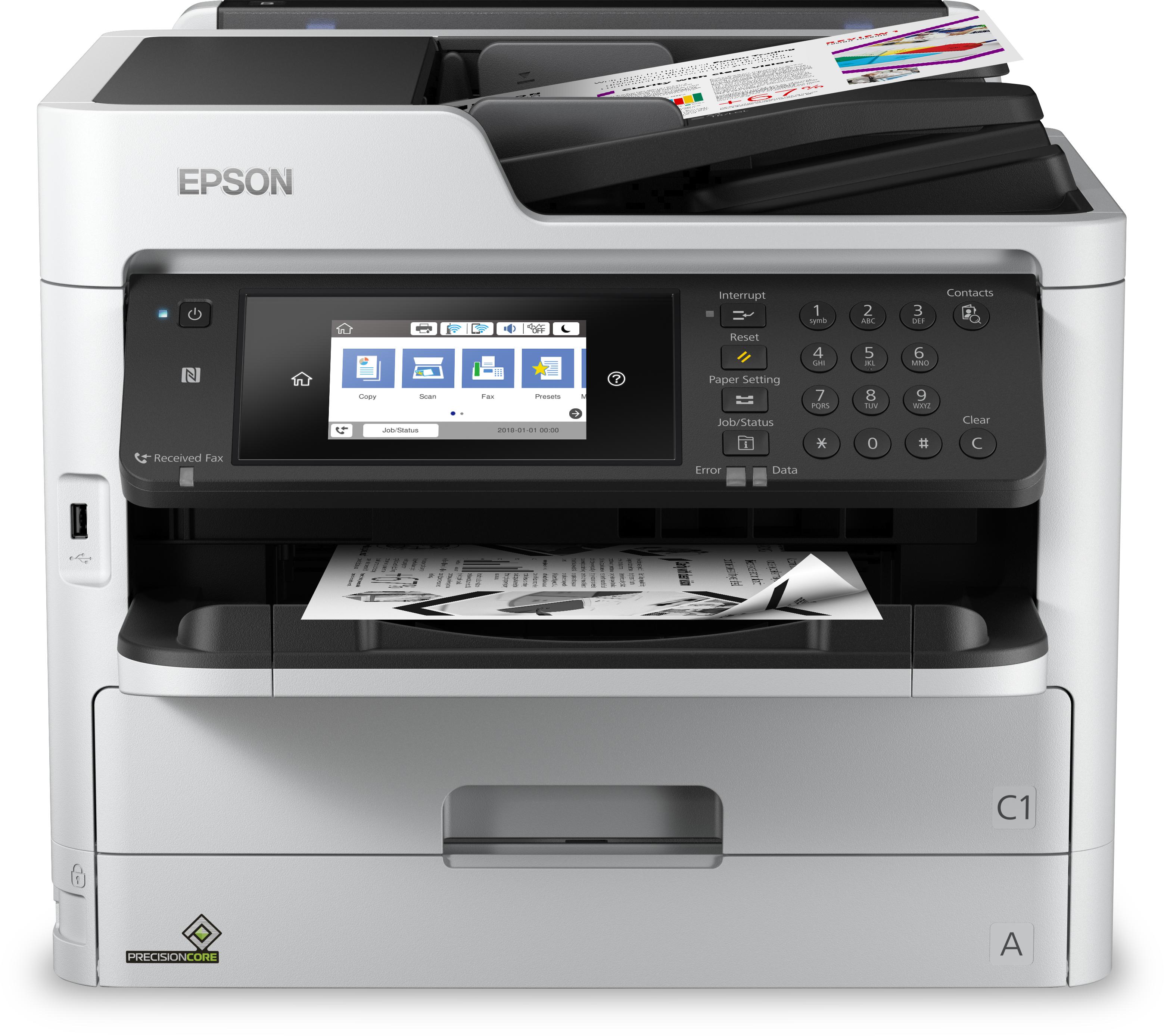 Noleggio Multifunzione WorkForce Pro WF-M5799DWF - Lyreco print services
