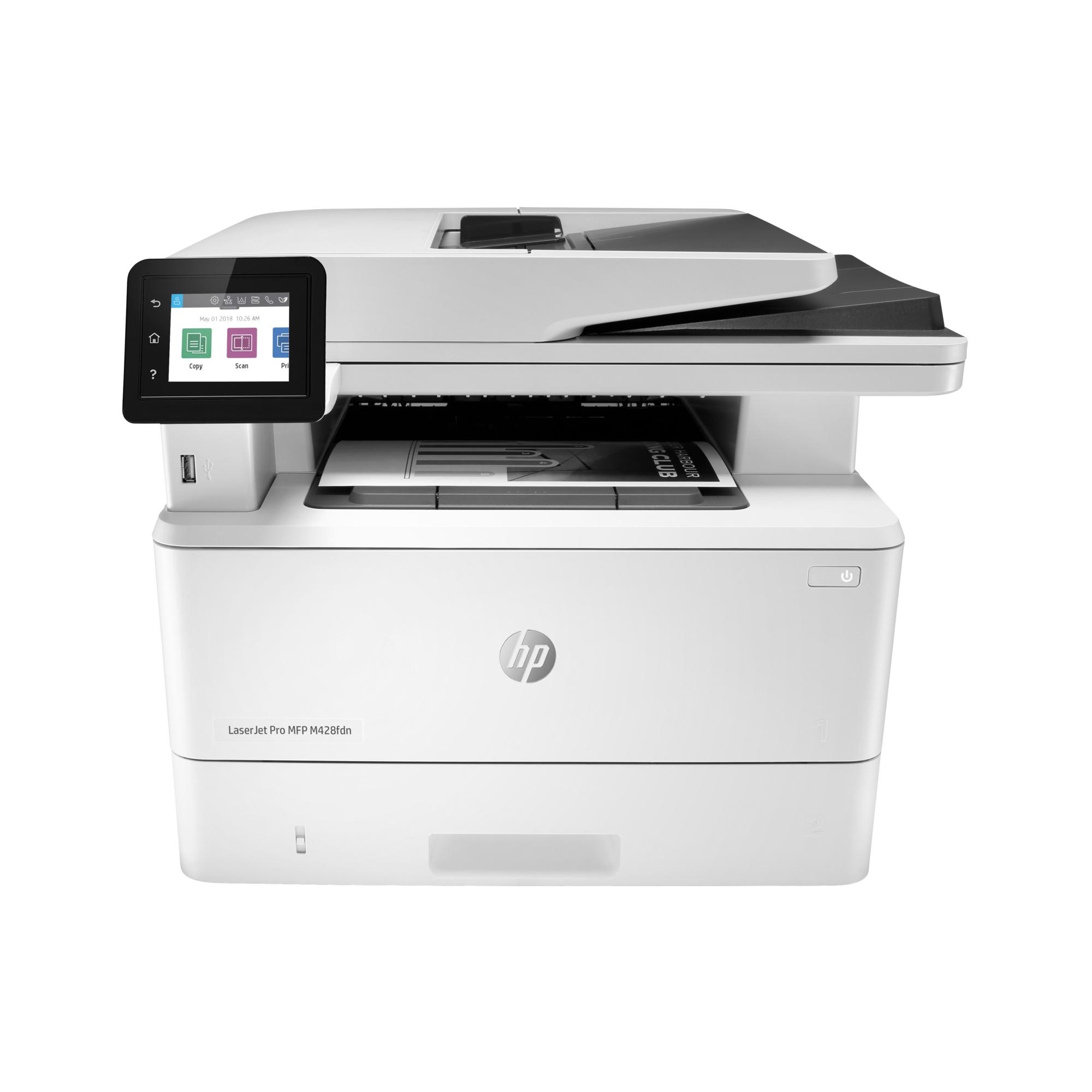 Noleggio Stampante Multifunzione HP LaserJet Pro M428fdn - Lyreco print services
