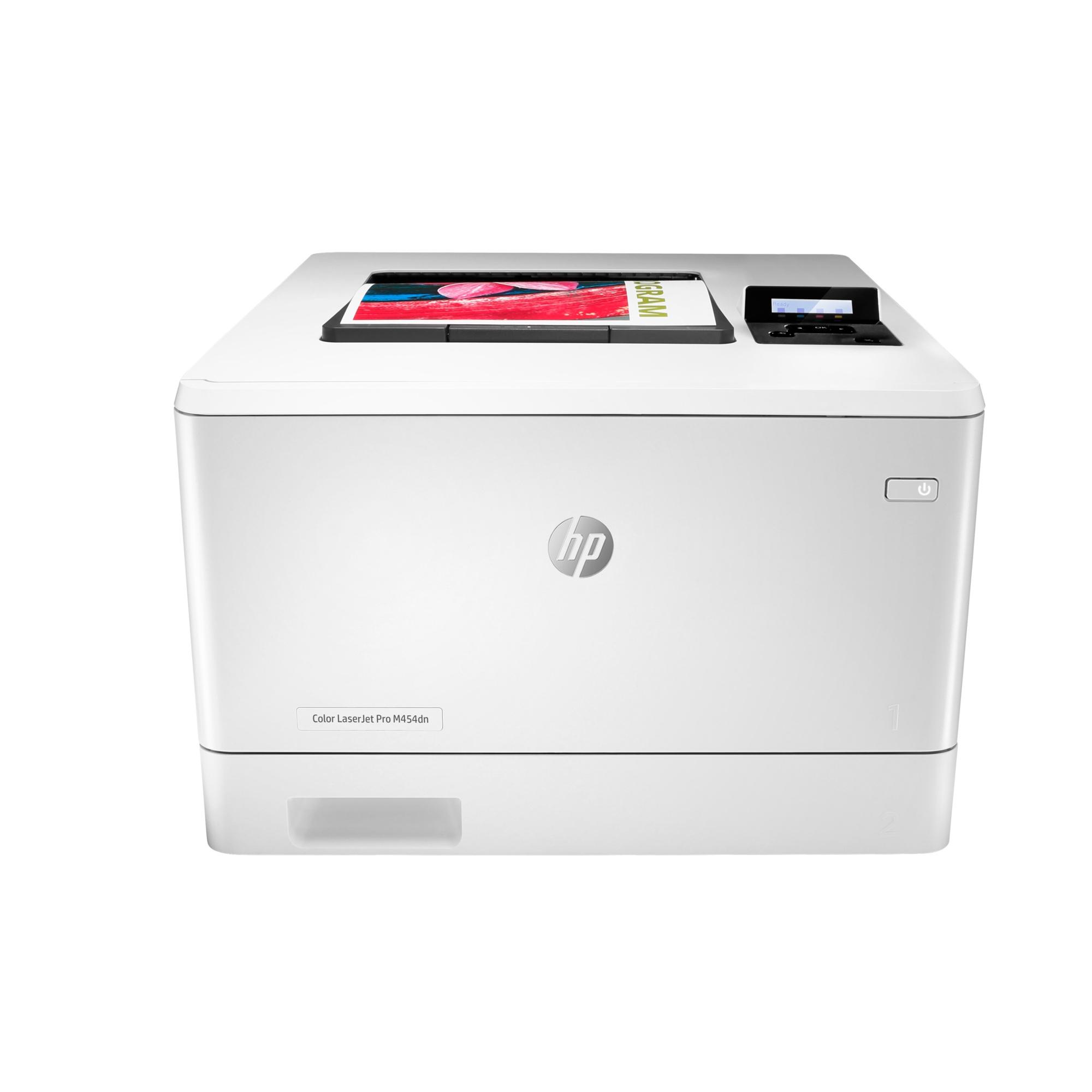 Noleggio Stampante HP Color LaserJet Pro M454dn - Lyreco print services