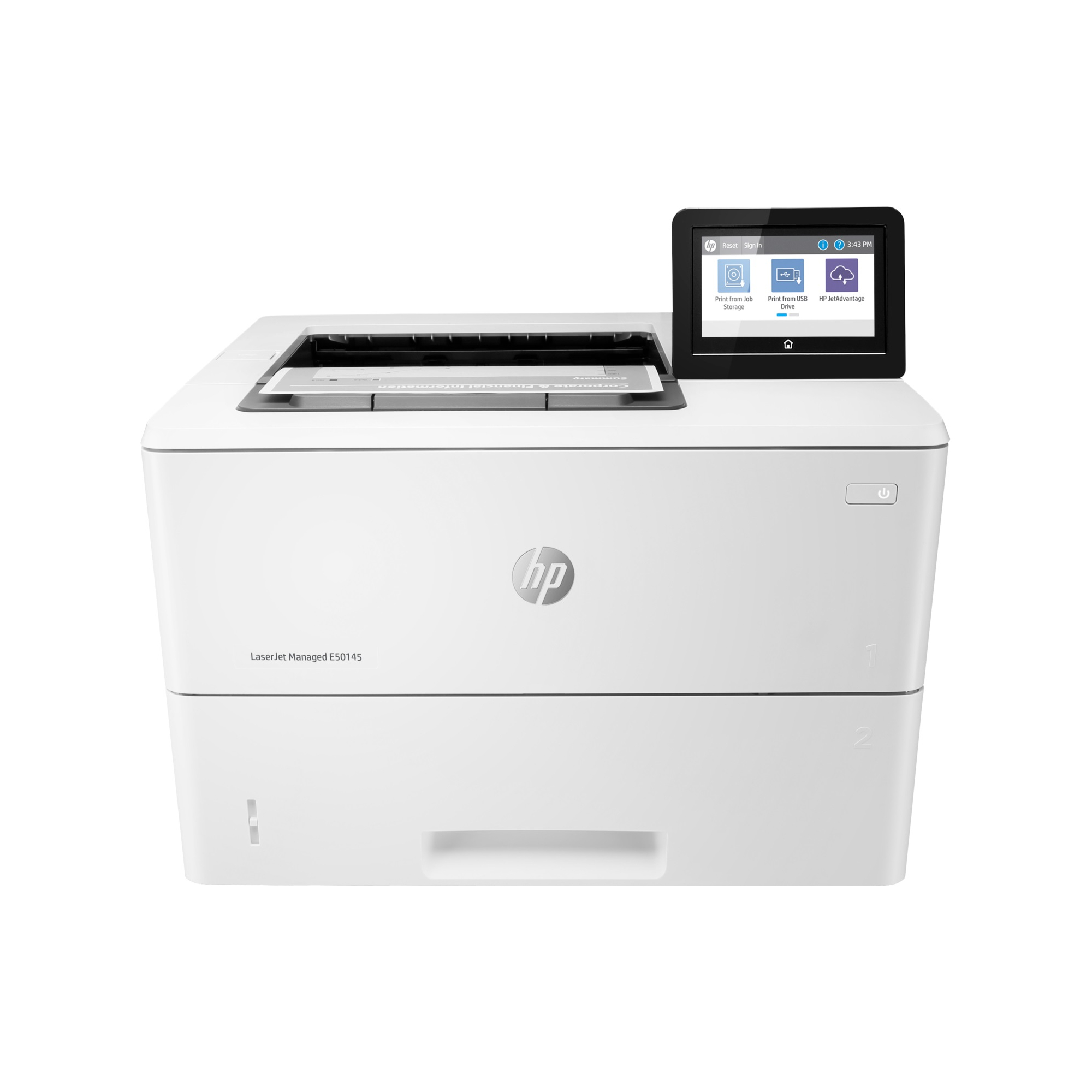 Noleggio Stampante HP LaserJet Managed E50145dn - Lyreco print services