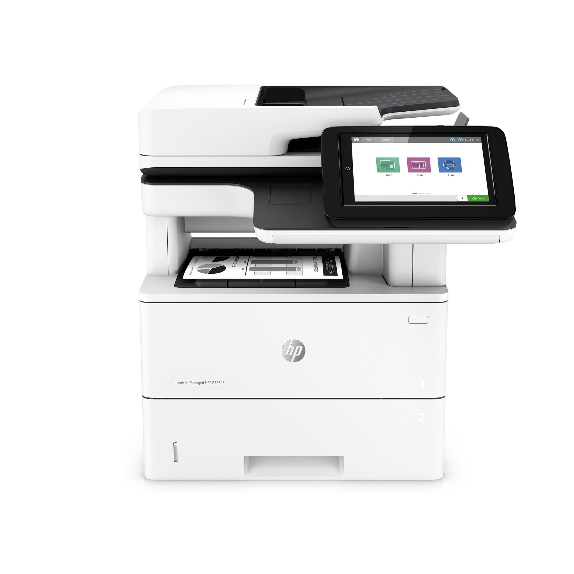 Noleggio Multifunzione HP LaserJet Managed E52645dn - Lyreco print services
