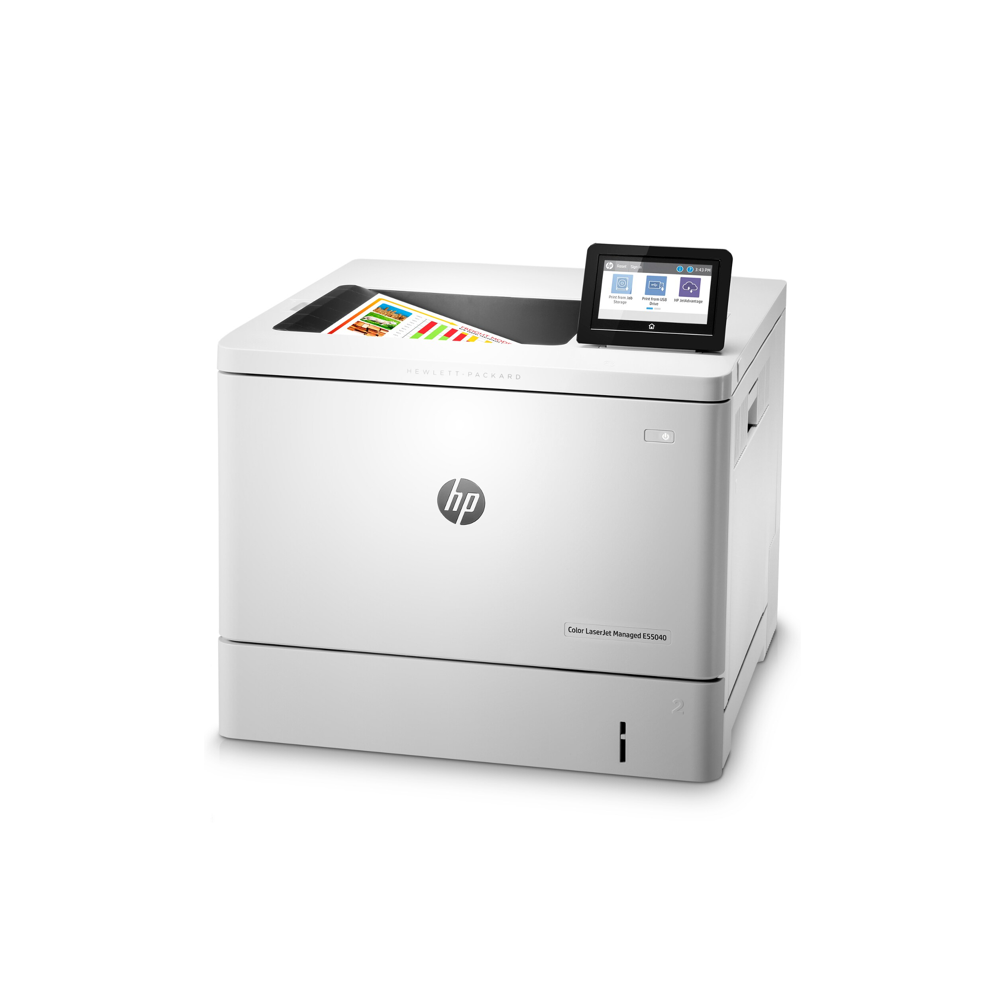 Noleggio Stampante HP Color LaserJet Managed E55040dw - Lyreco print services