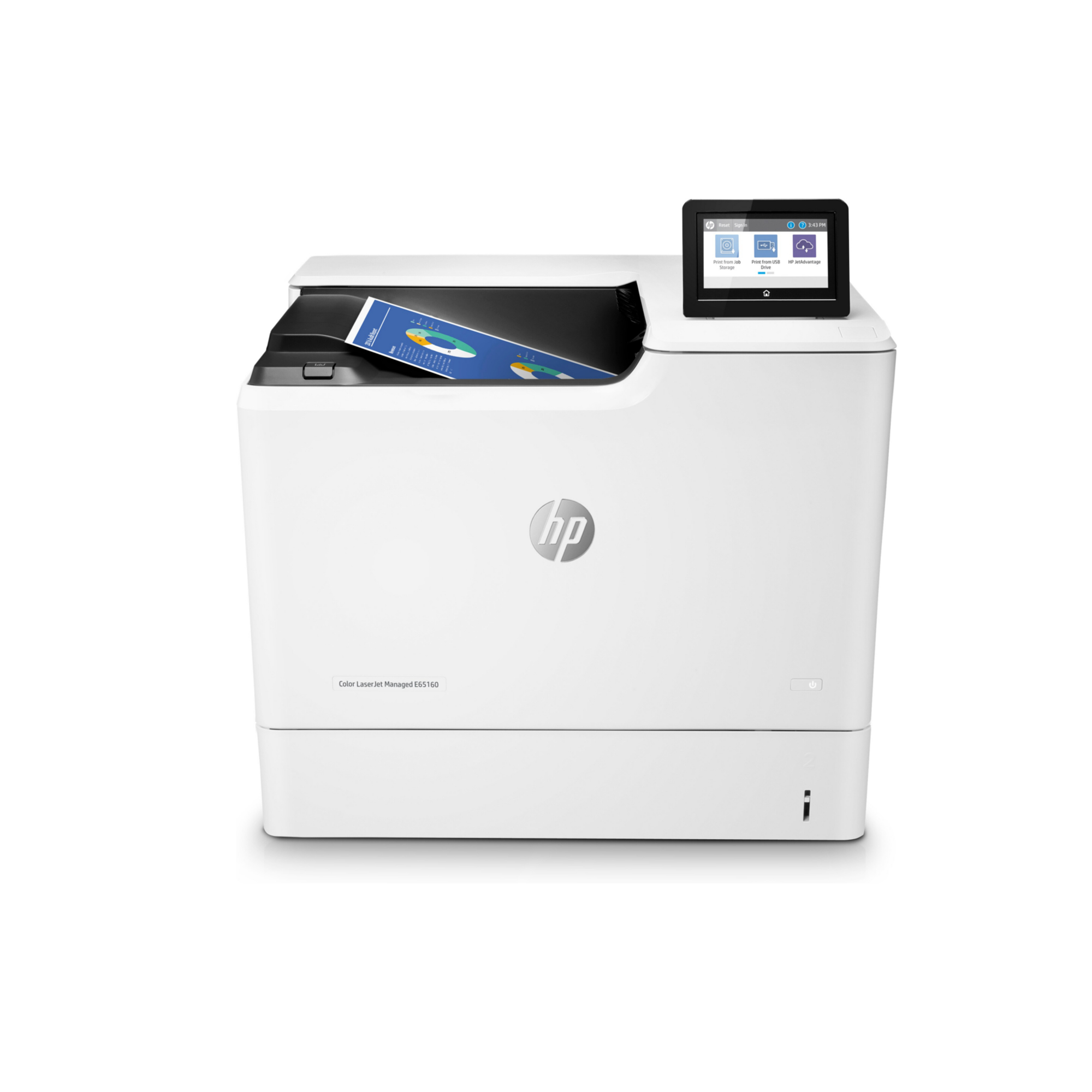 Noleggio Stampante HP Color LaserJet Managed E65160dn - Lyreco print services