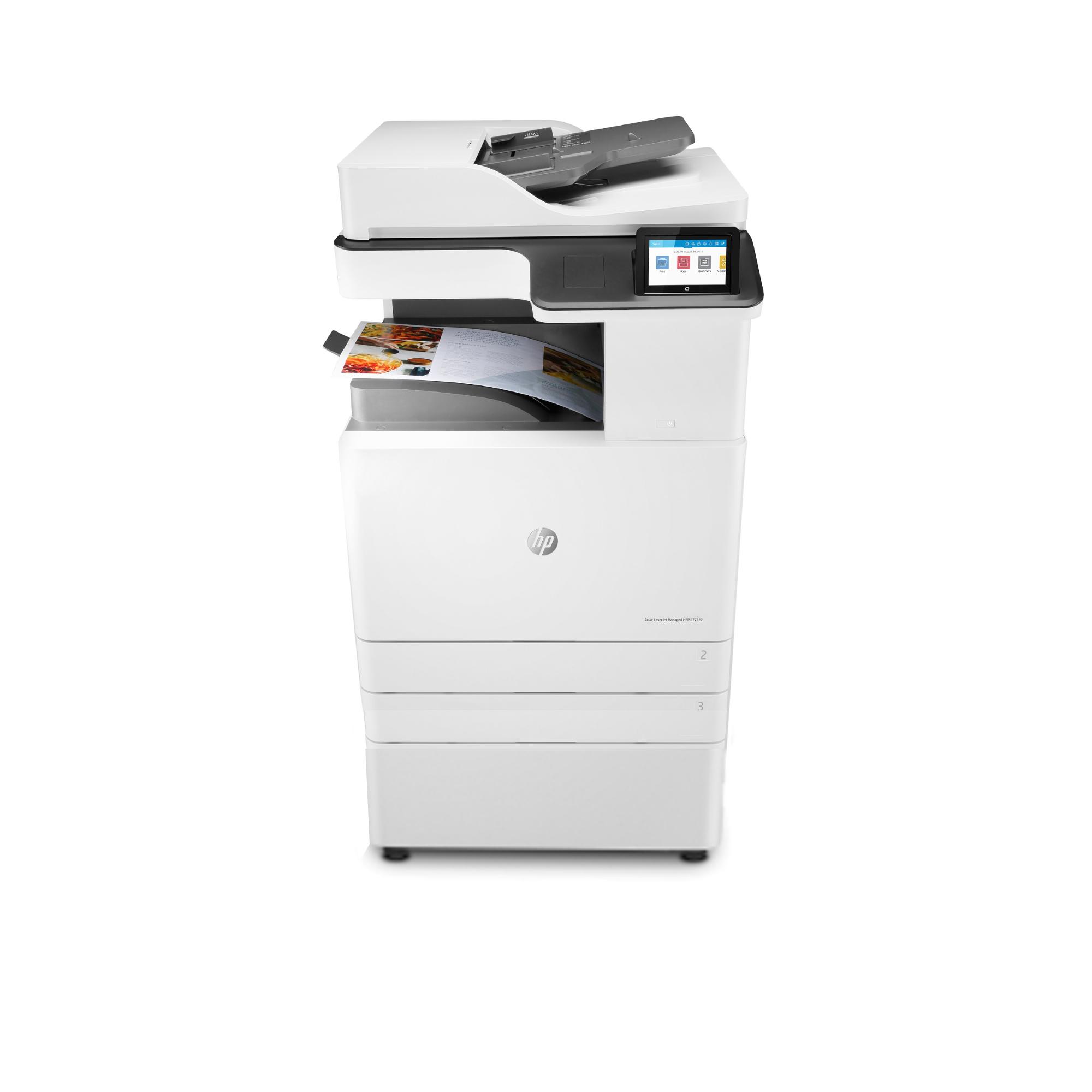 Noleggio Stampante Multifunzione HP LaserJet Managed E77422dv - Lyreco print services