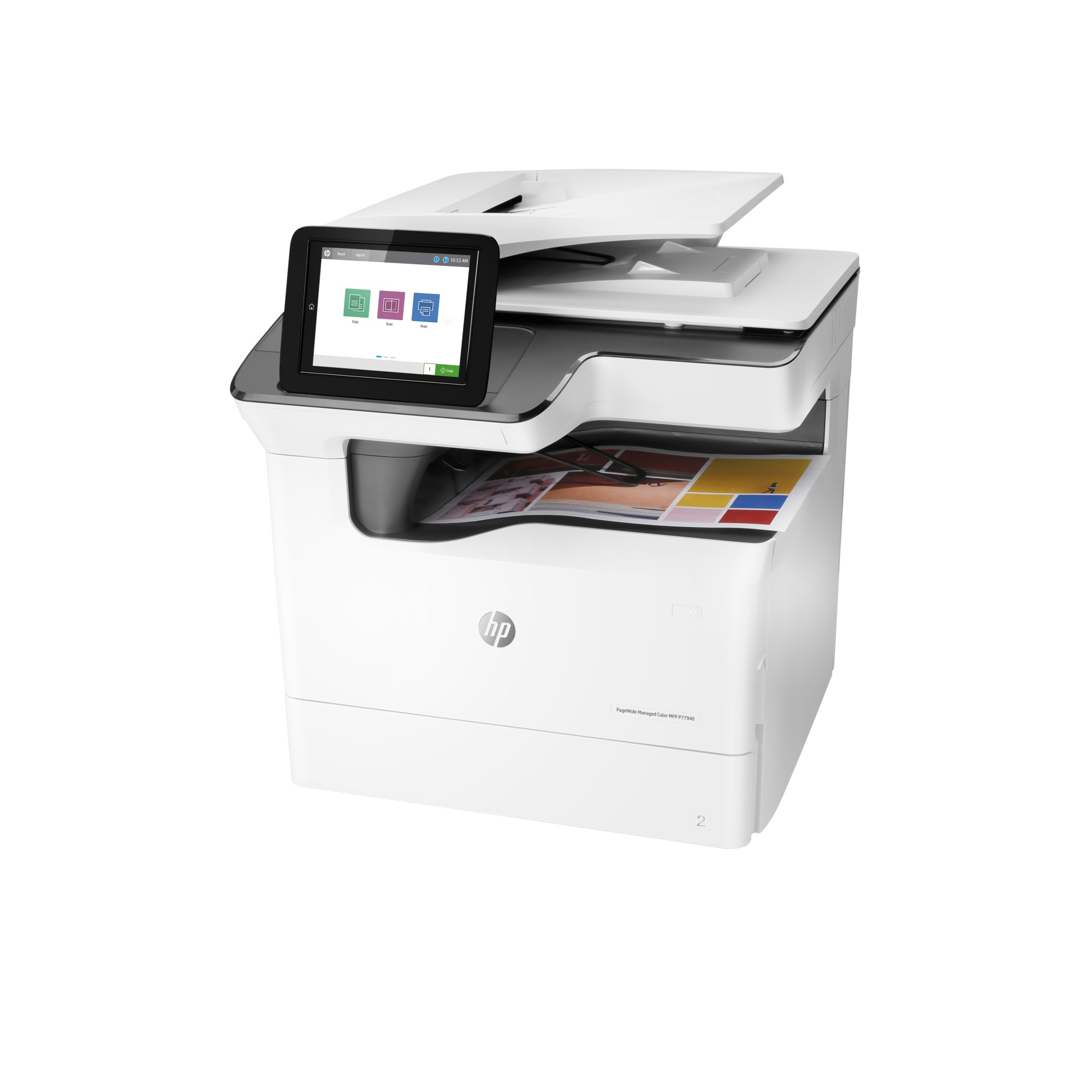 Noleggio Stampante Multifunzone HP PageWide Managed P77940dn - Lyreco print services