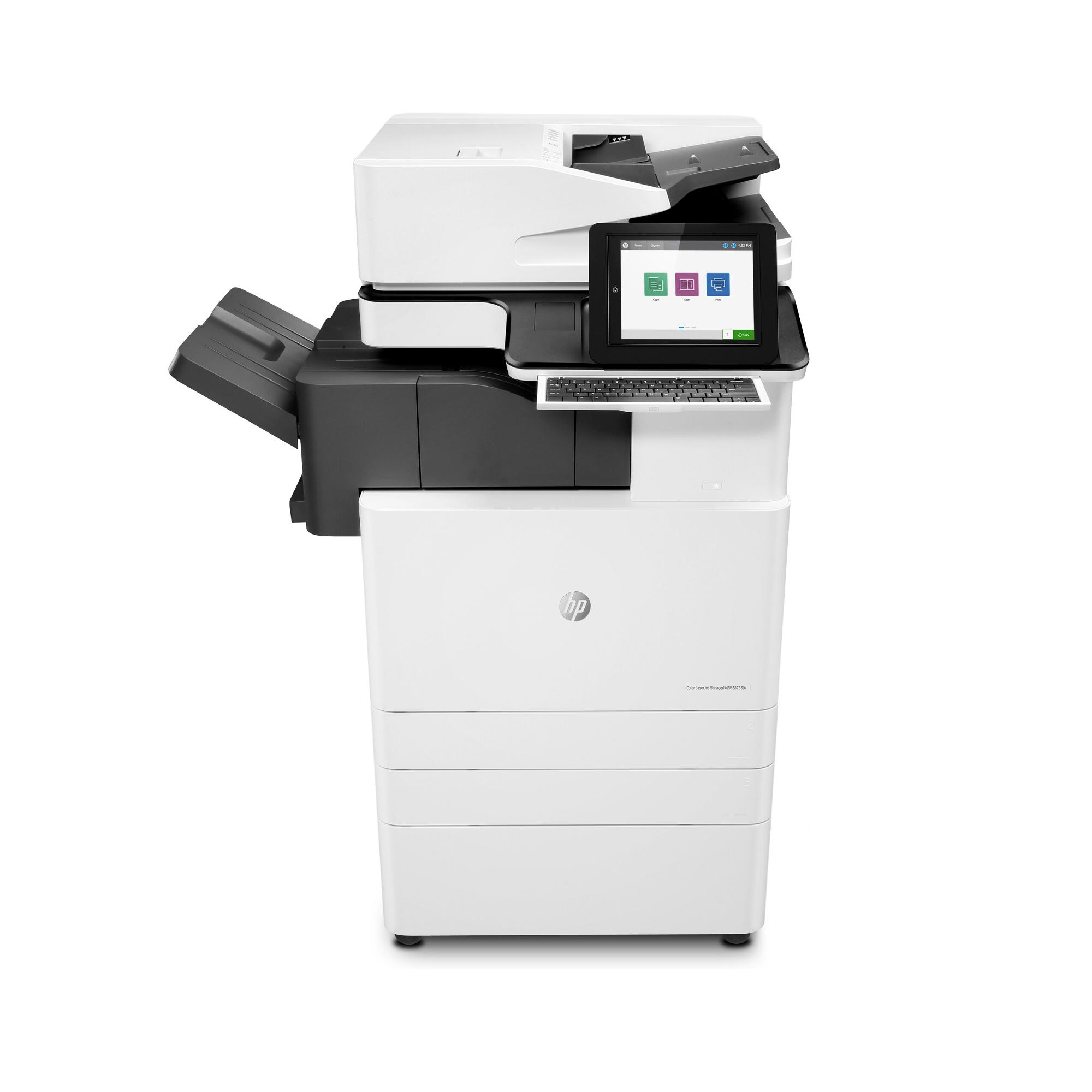 Noleggio Stampante Multifunzione HP LaserJet Managed E87650z Plus - Lyreco print services