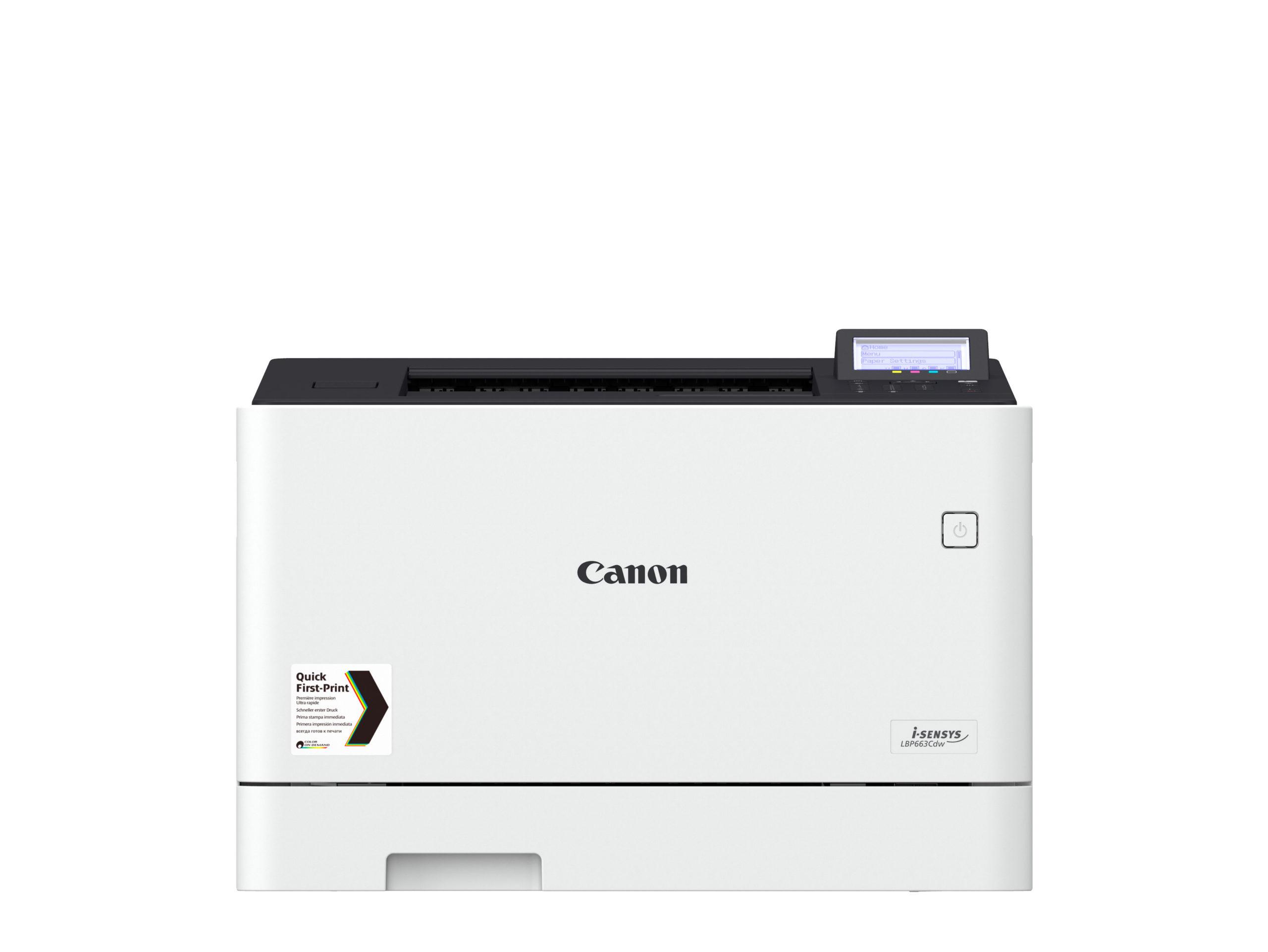 Noleggio Stampante CANON I-SENSYS LBP663CDW - Lyreco print services