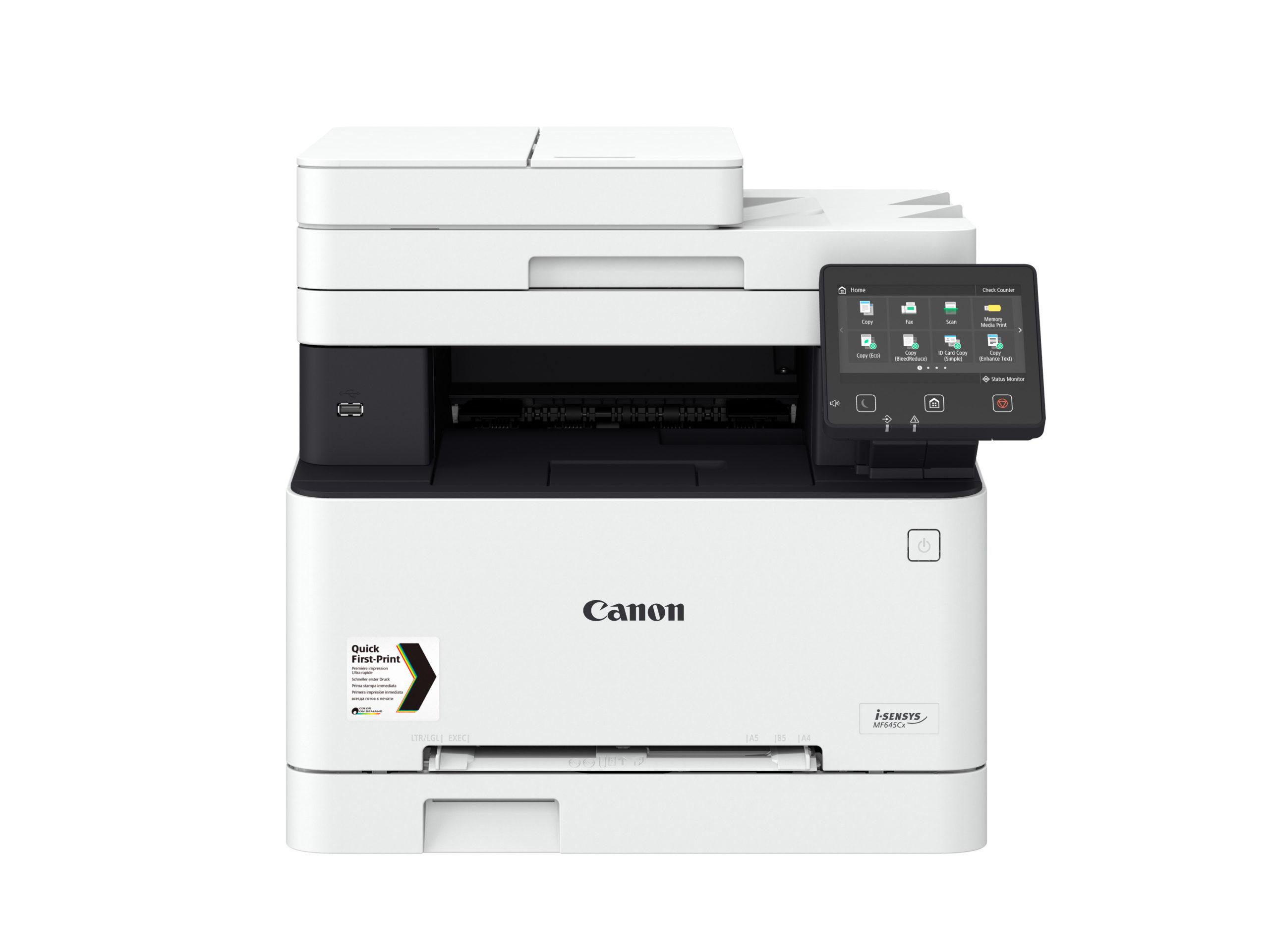 Noleggio Stampante Multifunzione CANON I-SENSYS MF645CX - Lyreco print services