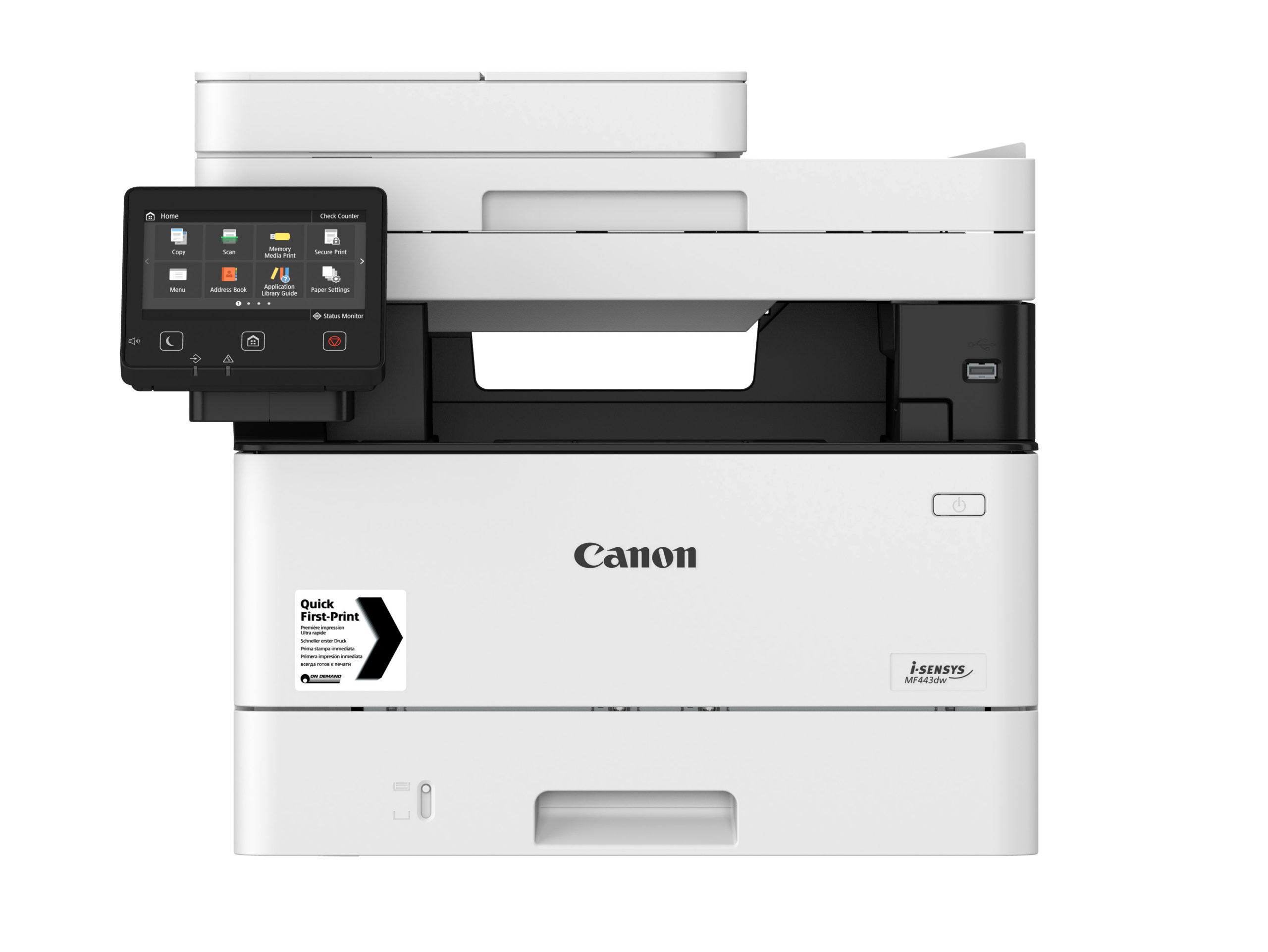 Noleggio Stampante Multifunzione CANON I-SENSYS MF443DW - Lyreco print services
