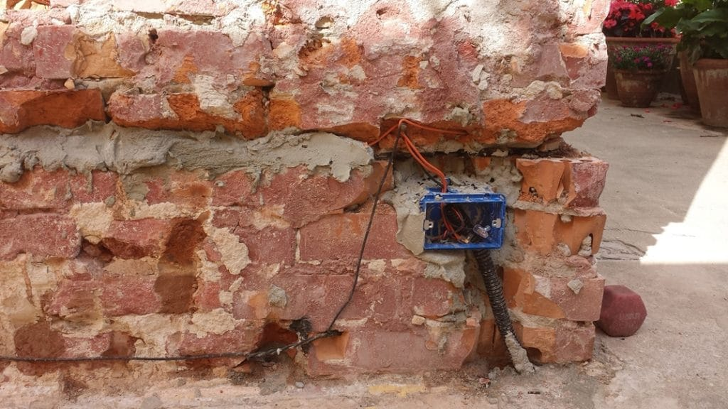 elettrosmosi muro