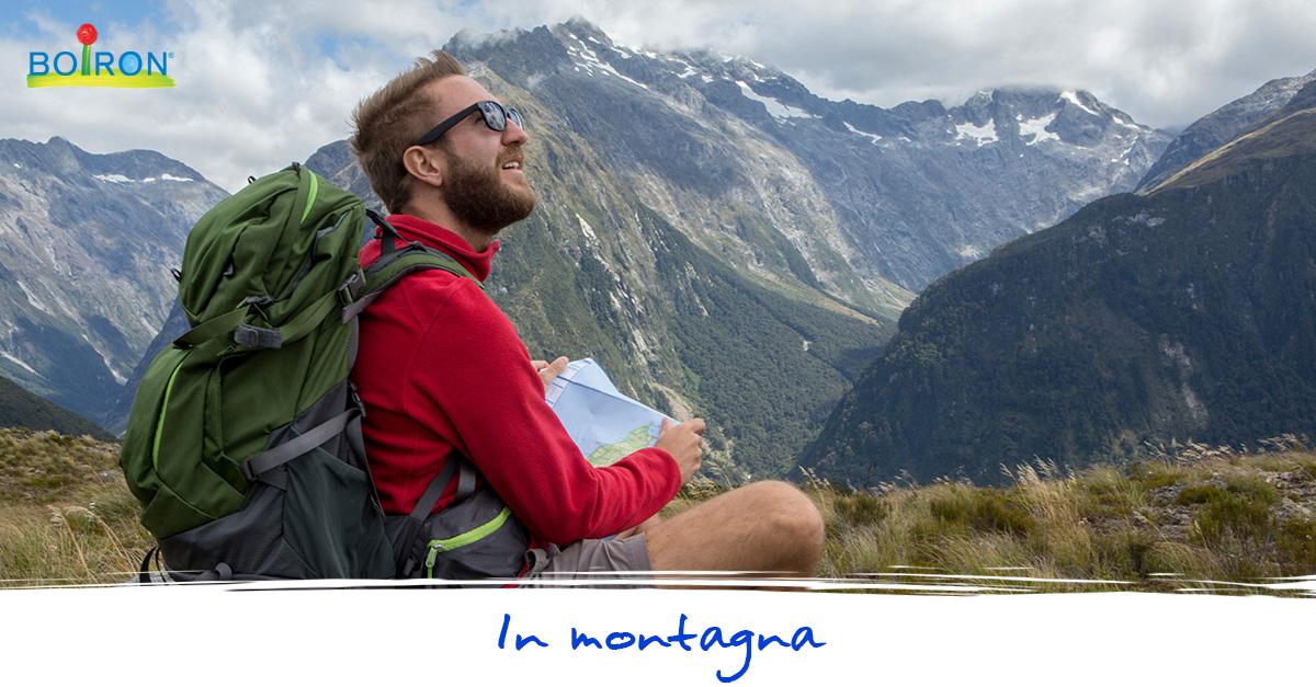 medicinali omeopatici in montagna