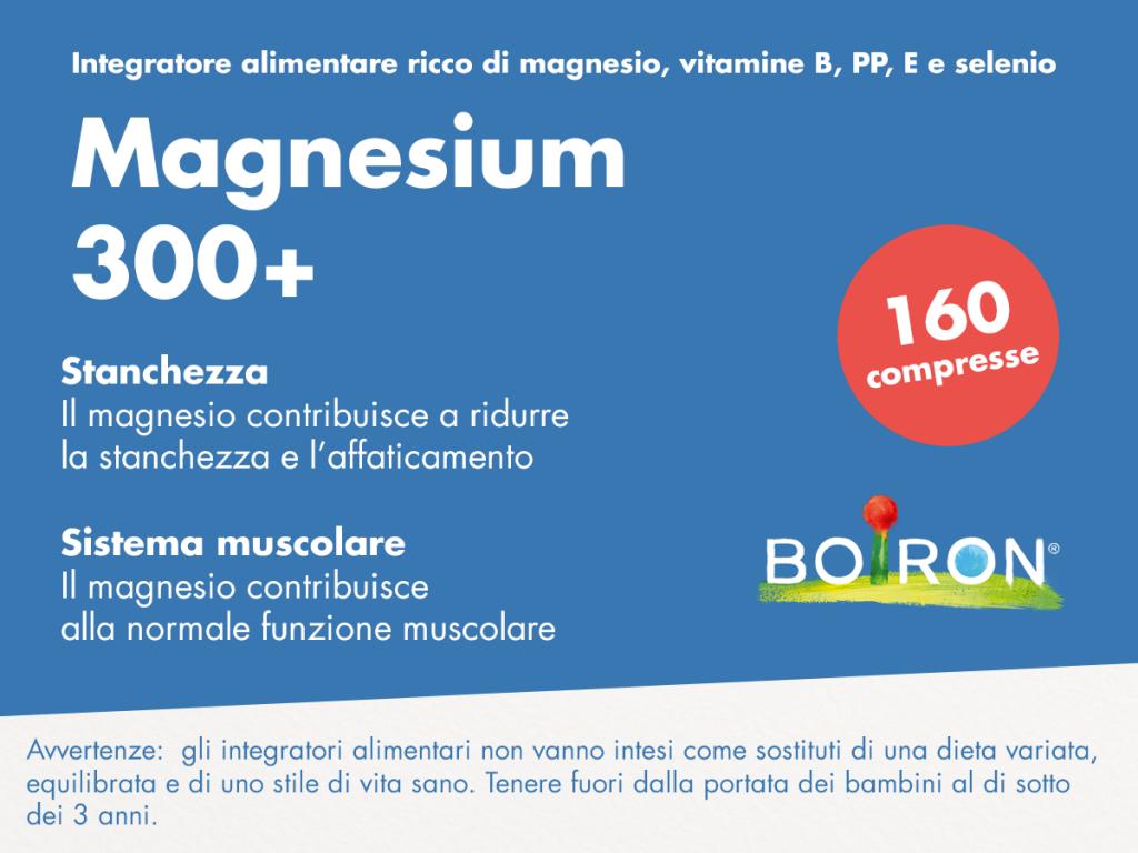 Magnesium 300 Integratore Alimentare A Base Di Magnesio