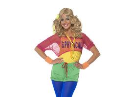 80er Jahre Aerobic Kostüm Produktbild