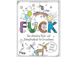 FUCK - Schimpfmalbuch Produktbild