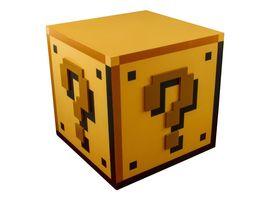 Super Mario Fragezeichen-Block Produktbild
