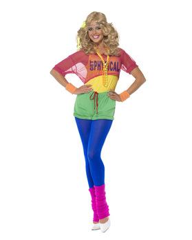 Foto: 80er Jahre Aerobic Kostüm