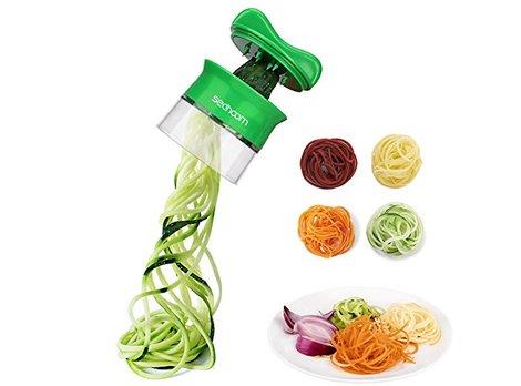 Foto:Spieralschneider für Gemüsespaghetti