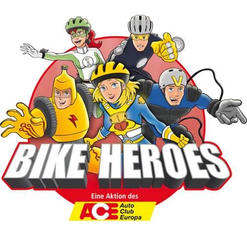 """Logo """"BIKE HEROES"""""""