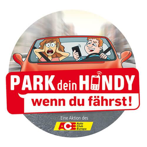 """Logo """"Park dein Handy"""""""