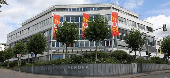 Das Firmengebäude der ACE Zentrale in Stuttgart