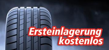 Reifenersteinlagerung kostenlos
