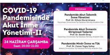 Online Seminer: COVID 19 Pandemisinde Akut İnme Yönetimi – II