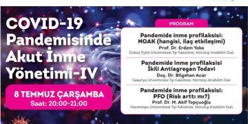 Online Seminer: COVID-19 Pandemisinde Akut İnme Yönetimi – IV