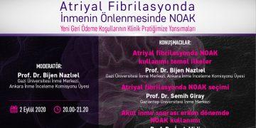 Online Seminer: Atriyal Fibrilasyonda İnmenin Önlenmesinde NOAK