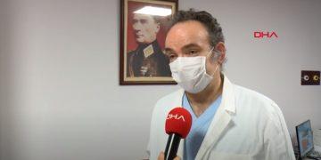 TBDHD Başkanı Prof. Dr. Mehmet Akif Topçuoğlu'nun DHA röportajı