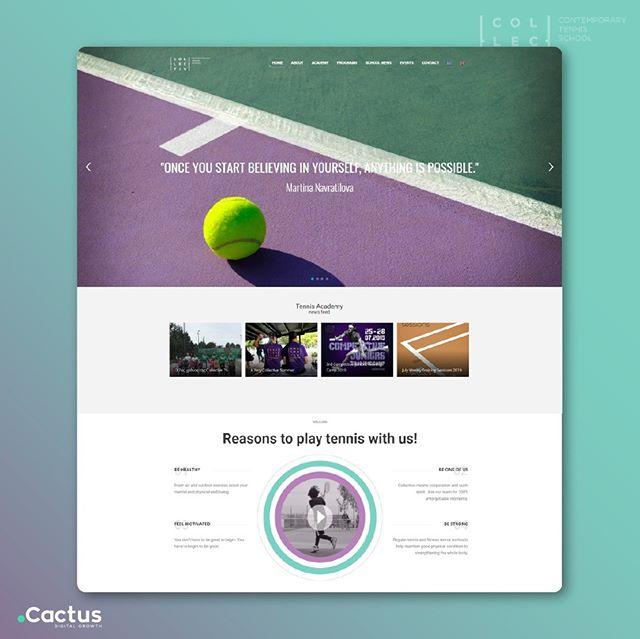 Ιστοσελίδα Σχολής Τένις
