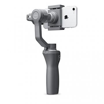 Gimbal Osmo Mobile 2 di DJI per iPhone I video fluidi di qualità cinematografica I stabilizza le immagini e trasforma il tuo iPhone in una videocamera intelligente - Grigio - 3