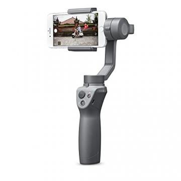 Gimbal Osmo Mobile 2 di DJI per iPhone I video fluidi di qualità cinematografica I stabilizza le immagini e trasforma il tuo iPhone in una videocamera intelligente - Grigio - 4