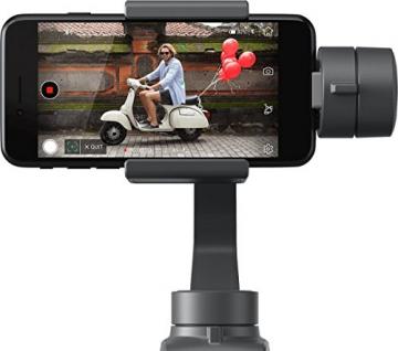 Gimbal Osmo Mobile 2 di DJI per iPhone I video fluidi di qualità cinematografica I stabilizza le immagini e trasforma il tuo iPhone in una videocamera intelligente - Grigio - 5