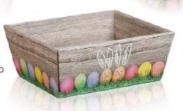 10 cestini regalo per uova di Pasqua, misura piccola - 1