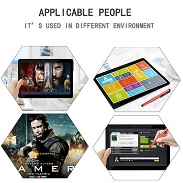 10 inch Tablet Android Octa Core Tablet with 4GB RAM 64GB ROM Tablet PC Built in WiFi and Camera GPS Two Sim Card Slots Unlocked 3G Phone Call Phablet (black) - 8