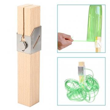 DIY taglio bottiglia plastica intelligente strumento Truschino per bottiglie plastica bricolage artigianato (Attenzione per bambini) - 4