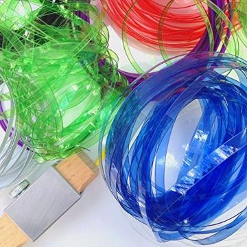DIY taglio bottiglia plastica intelligente strumento Truschino per bottiglie plastica bricolage artigianato (Attenzione per bambini) - 7