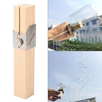 DIY taglio bottiglia plastica intelligente strumento Truschino per bottiglie plastica bricolage artigianato (Attenzione per bambini) - 8