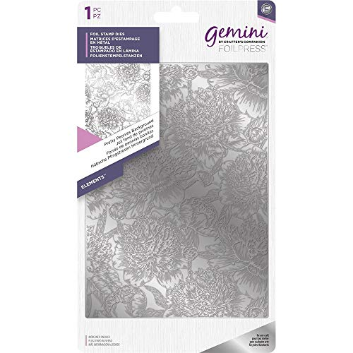 Gemini Crafter' s Companion Hot foil stamp die–Elements–Pretty peonie - 1
