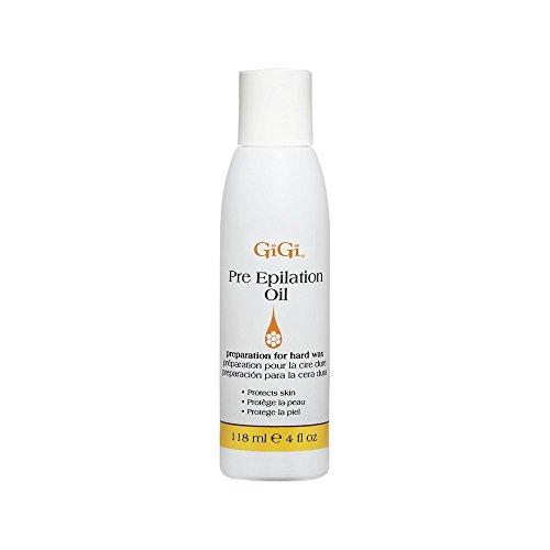 Gigi pre Epilation oil–per una più facile e più efficace la ceretta proteggendo & condizionata pelle–preparazione per cera dura–118ml - 1