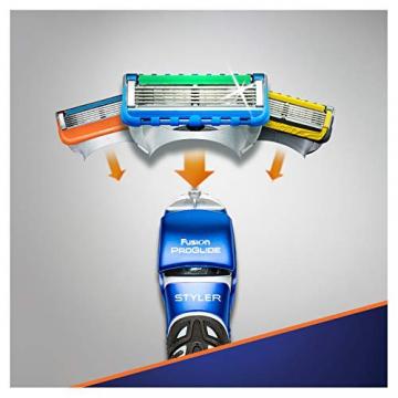 Gillette Fusion ProGlide Styler Rasoio Regolabarba. Regola, Rade e Rifinisce - 9