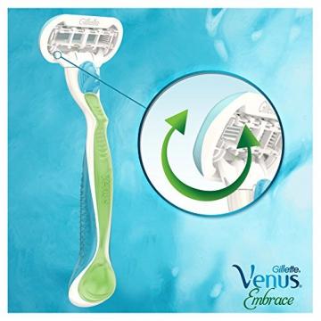 Gillette Venus Embrace Rasoio, 1 confezione con 4 ricambi - 6