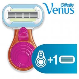 Gillette Venus Snap Embrace Rasoio da Donna con Astuccio Mini-Compact - 1